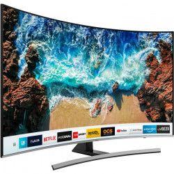 SAMSUNG UE55NU8505TXXC TV LED 4K UHD 138 cm (55`) - ECRAN INCURVE - SMART TV - 2700 PQI - 4 x HDMI - 2 x USB -