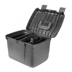 HORZE Coffre de pansage pour chevaux Smart - L 40,8 x P 30 x H 29,5cm - Vert