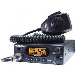 PRESIDENT Station de radio CB Teddy ASC - 40 canaux AM / FM - Multinormes