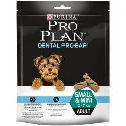PRO PLAN Lot de 6 friandises Dental Pro Bar - 150 g - Pour petit chien