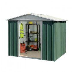 YARDMASTER Abri de jardin en métal - Surface hors tout : 4,79 m²