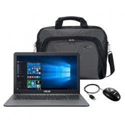 ASUS Ordinateur portable X540LA-XX1303T - 15,6 pouces - Core i3-5005U - RAM 4Go - Stockage 1To HDD + Sacoche +
