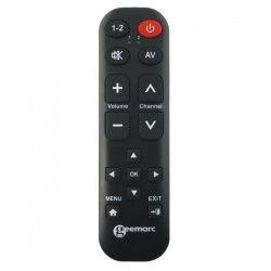 Télécommande universelle simplifiée GEEMARC TV15 - 14 touches programmables