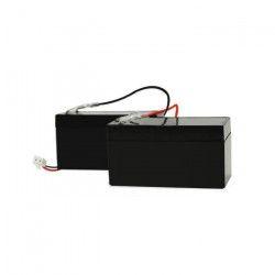 SCS SENTINEL Kit de 2 batteries de secours 1,2 AH pour motorisation