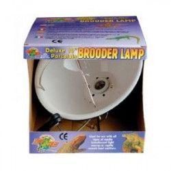 ZOOMED Support de lampe dôme pour ampoule jusqu`a 100 W - Ø 14 cm - Pour reptile, terrarium