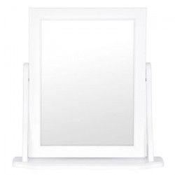 BELLA Miroir 30x40 cm - Blanc laqué
