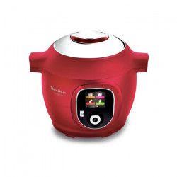 MOULINEX CE851500 COOKEO Multicuiseur intelligent avec 150 recettes préprogrammées - Rouge