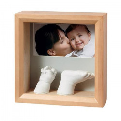 Baby Art MY BABY SCULPTURE - cadre empreinte 3D - Miel
