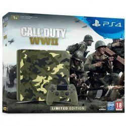 Pack Nouvelle PS4 1To Camo Design + Call of Duty World War II + Qui-es-tu ? (Jeu PlayLink a télécharger)