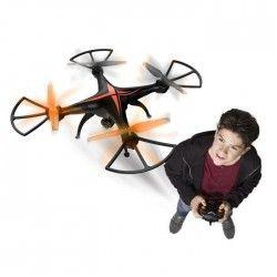 SILVERLIT- Drone Télécommandé - Spy Racer FPV LCD (Pilotage en immersion) avec Vidéo en temps réel sur écran LCD intégré