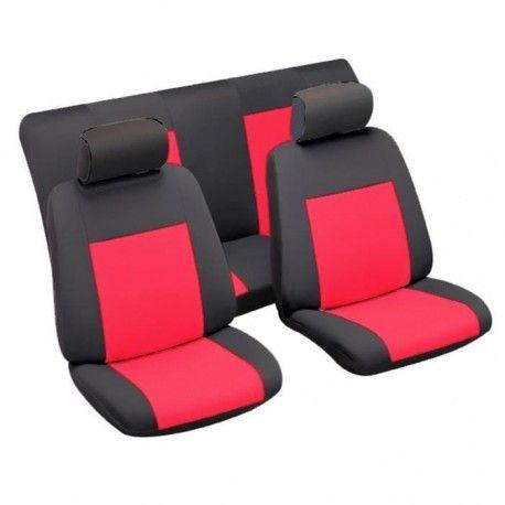housses de siege china tu noir et rouge. Black Bedroom Furniture Sets. Home Design Ideas