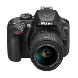 NIKON D3400 + Objectif AF-P DX 18-55 VR - Reflex numérique - Grand capteur DX de 24,2Mp - Vidéo Full HD -