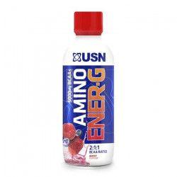 USN Pack de 12 Bouteilles Berry Amino Energy Baie 375 ml Bien Etre