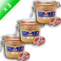 Foie Gras de Canard Entier Label Rouge 320g x3