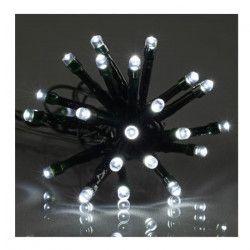 Guirlande de Noël LED extérieure filaire PVC - 12 m - Blanc froid - Electrique
