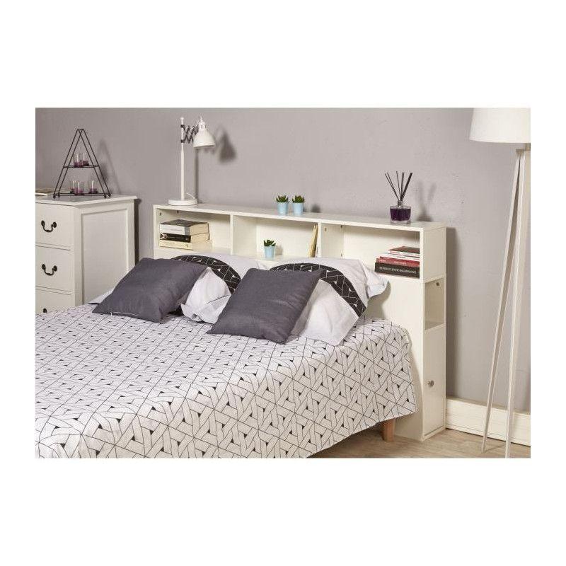 BIARRITZ Tete de lit classique - Blanc - L 160 cm