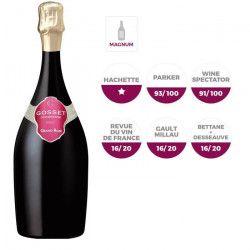 Champagne Gosset Grand Rosé Magnum