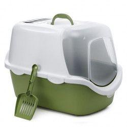 ZOLUX Maison de toilette Cathy - Vert - Pour chat
