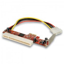 LINDY Adaptateur PCIe pour carte PCI Low Profile