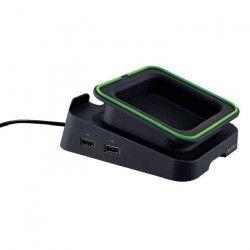 LEITZ - Support pour bureau pour tablette Complete et 2 ports USB - noir