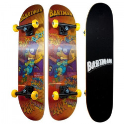 LES SIMPSONS Skateboard Enfant Bart Simpsons