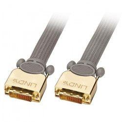 LINDY Câble DVI-D GOLD Dual Link SLD - 10m