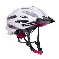 Hudora - Casque de vélo GRANITE - taille 55-58 - Gris/Rose