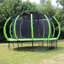 SOULET Trampoline Courbé Ø 3.65 m avec Filet Antichute