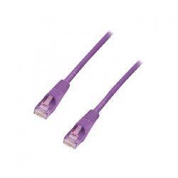 LINDY Câble réseau patch cat.6 U/UTP - Cuivre - 250MHz - 20m - Violet