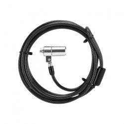 TARGUS Cable antivol Defcon + Clés de sécurité - 1,85m