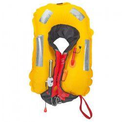 PLASTIMO Gilet de Sauvetage Pilot 165 - Automatique Pro-Sensor - Rouge