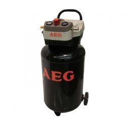 AEG Compresseur d`air vertical 50 L 2 CV 8 bar sans huile
