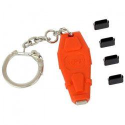 LINDY Bloqueur de port USB Type C - Kit de base avec 4 verrous et 1 clé