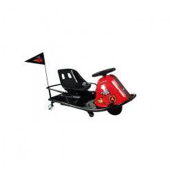 MOOVWAY Kart électrique - Moteur 350W - 36V 7,8Ah - Noir et rouge