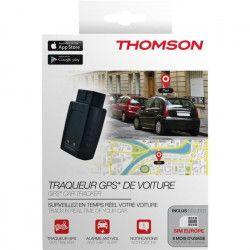 THOMSON Traqueur De Voiture GPS Avec Carte Sim Europe - Noir