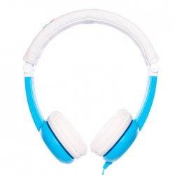 ONANOFF Casque Audio Buddyphones Pliable de Voyage pour Enfant - Bleu