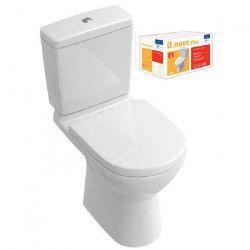 VILLEROY & BOCH Pack WC sur pied O.novo Plus sortie horizontale