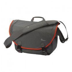 LOWEPRO PASSPORT MESSENGER Sac bandouliere pour Appareil Photo Numérique et ordinateur portable Gris/Orange