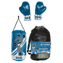 USG Punching ball Sac de frappe 4 kg + gants