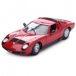 BBURAGO Voiture de collection en métal Lamborghini Miura 1968 a l`échelle 1/18eme