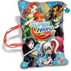 DC SUPER HERO GIRLS Coussin Secret
