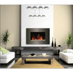 CARRERA Luna 1800 watts Cheminée électrique décorative et chauffage d`appoint
