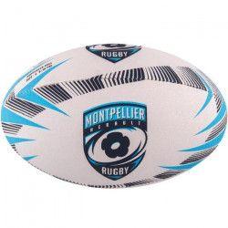 GILBERT Ballon de rugby SUPPORTER - Montpellier - Taille 5
