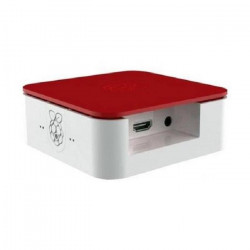 ONE NINE DESIGN Boîtier Quattro Case with Vesa - Blanc / Rouge