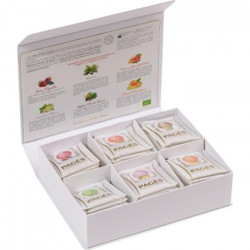 PAGES - Coffret de 60 sachets d`Infusions Bio