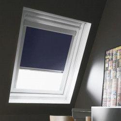 Store de fenetre de toit occultant bleu VELUX M04 - L.78 x H.98 cm - MADECO
