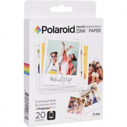POLAROID POLZL3X420 Papier photo 3`x4` pour appareil photo Polaroid POP