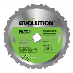 EVOLUTION Lame multi-usages FURY 185mm