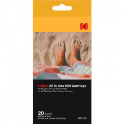 KODAK KODMC20 Pack de 20 feuilles compatible Mini Shot et imprimante Mini 2