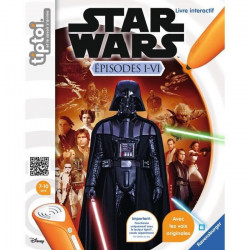 STAR WARS TIPTOI Livre Interactif Episode I-VI - Disney